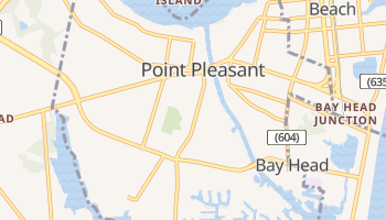 Point Pleasant, New Jersey map