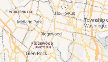 Ridgewood, New Jersey map