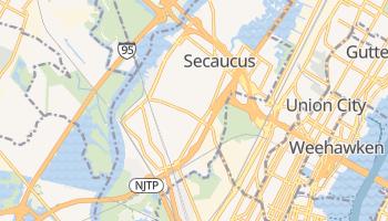 Secaucus, New Jersey map