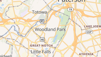 West Paterson, New Jersey map
