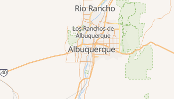 Albuquerque, New Mexico map