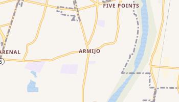Armijo, New Mexico map