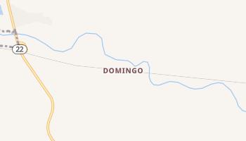 Domingo, New Mexico map