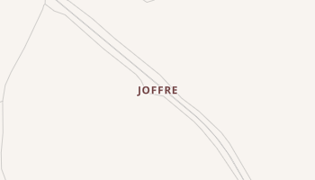 Joffre, New Mexico map