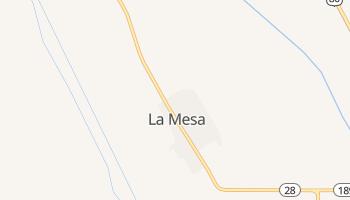 La Mesa, New Mexico map