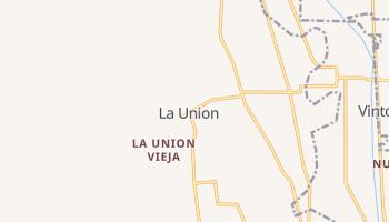 La Union, New Mexico map