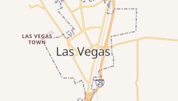 Las Vegas, New Mexico map