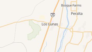 Los Lunas, New Mexico map