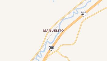 Manuelito, New Mexico map