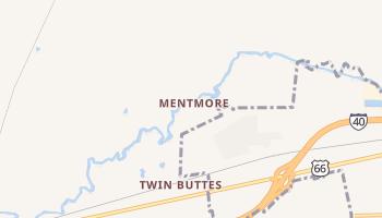 Mentmore, New Mexico map
