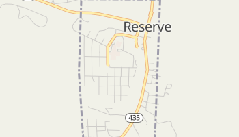Reserve, New Mexico map