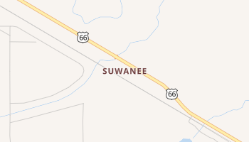 Suwanee, New Mexico map