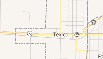 Texico, New Mexico map