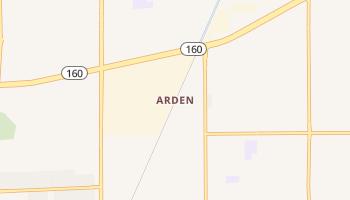 Arden, Nevada map