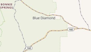Blue Diamond, Nevada map