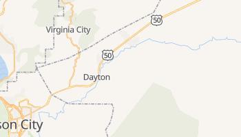 Dayton, Nevada map