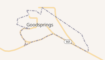 Goodsprings, Nevada map