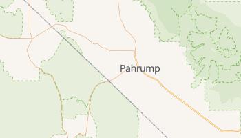 Pahrump, Nevada map