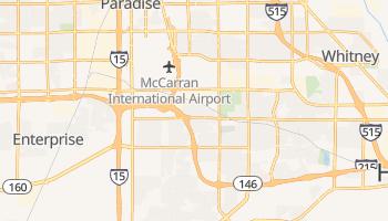 Paradise, Nevada map