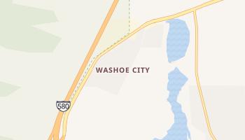 Washoe City, Nevada map