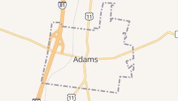Adams, New York map
