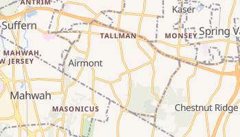 Airmont, New York map