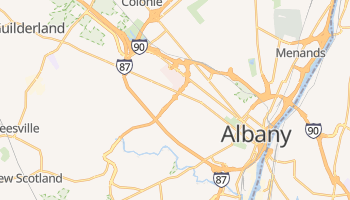 Albany, New York map