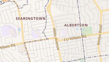 Albertson, New York map