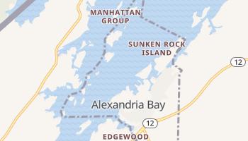 Alexandria Bay, New York map