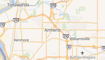 Amherst, New York map