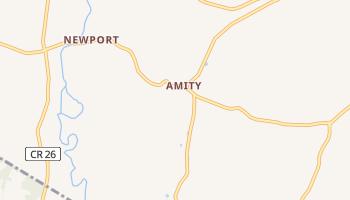 Amity, New York map
