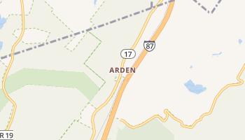 Arden, New York map