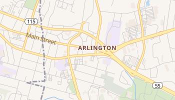 Arlington, New York map