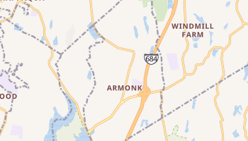 Armonk, New York map