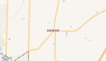 Armor, New York map