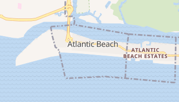 Atlantic Beach, New York map