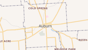 Auburn, New York map