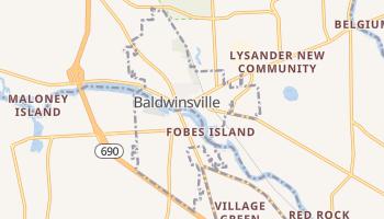 Baldwinsville, New York map