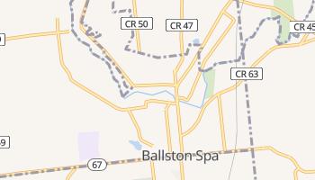 Ballston Spa, New York map