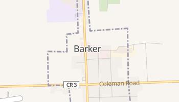 Barker, New York map