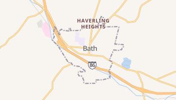 Bath, New York map