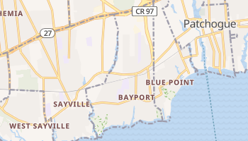 Bayport, New York map