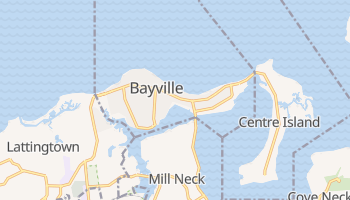 Bayville, New York map