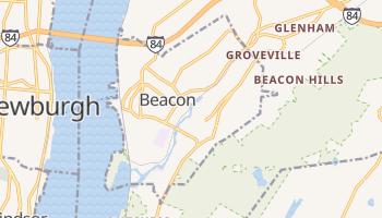 Beacon, New York map