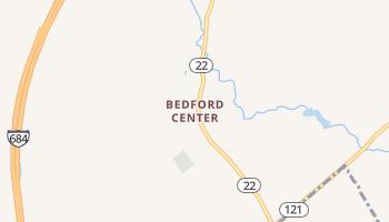 Bedford Center, New York map