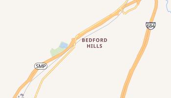 Bedford Hills, New York map