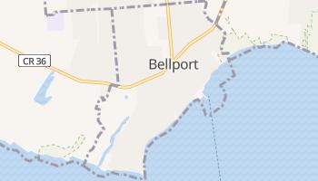 Bellport, New York map