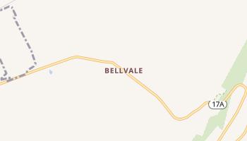 Bellvale, New York map