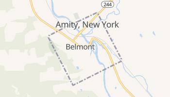 Belmont, New York map