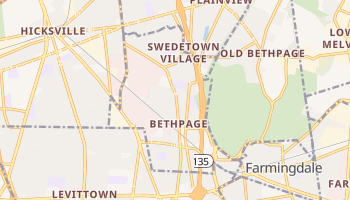 Bethpage, New York map